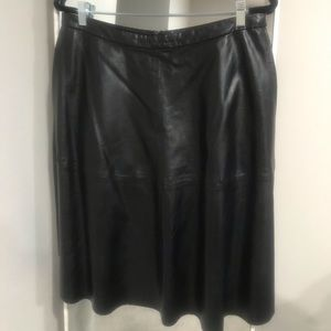 Vince Camuto Skirts - Vince Camuto Vegan Leather Skirt